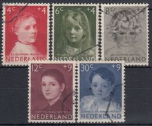 HOLANDA 1957 Nº 680/84 USADO - Periodo 1949 – 1980 (Juliana)