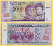 Paraguay 2000 Guaranies P-228c 2011 UNC - Paraguay