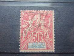 VEND TIMBRE DE GAUDELOUPE N° 37 !!! - Guadeloupe (1884-1947)