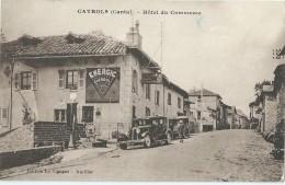 15 - CAYROLS - Hôtel Du Commerce - Automobile - - France