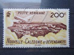 VEND TIMBRE DE POSTE AERIENNE DE NOUVELLE - CALEDONIE N° 63 , NEUF AVEC CHARNIERE !!! - Luftpost