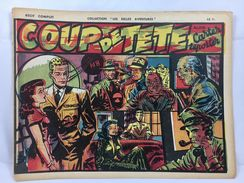 """Récit Complet, Collection """"Les Belles Aventures"""", Coup De Tête, Alain Carter Reporter - Magazines Et Périodiques"""