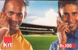 TARJETA TELEFONICA DE SRI LANKA (FUTBOL) (268) - Sri Lanka (Ceylon)