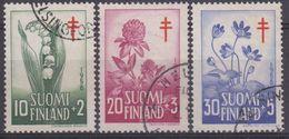 FINLANDIA 1958 Nº 472/74 USADO - Finlandia