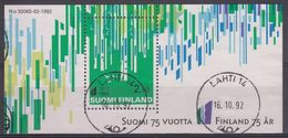 FINLANDIA 1992 Nº HB-9 USADO - Blocks & Kleinbögen