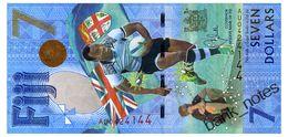 FIJI 7 DOLLARS 2016(17) Pick 120 Unc - Fiji