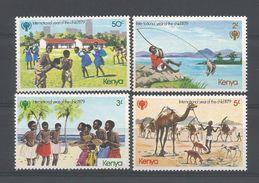 Kenya 1979 Int. Year Of The Child Y.T. 134/137 ** - Kenya (1963-...)