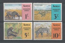 Kenya 1985 Endangered Animals Y.T. 348/351 ** - Kenya (1963-...)