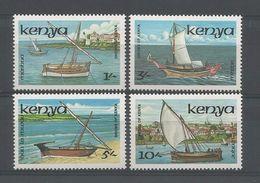 Kenya 1986 Traditional Boats Y.T. 374/377 ** - Kenya (1963-...)