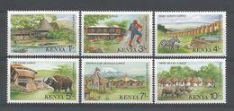 Kenya 1988 Tourism  Y.T. 427/432 ** - Kenya (1963-...)