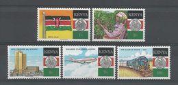 Kenya 1988 25th Anniv. Of Independence Y.T. 459/463 ** - Kenya (1963-...)