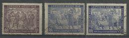 """Sowjetische Zone 198-199a,b """"3 Briefmarken, Satz Kpl. Leipziger Messe 1948, Mit Farben A Und B"""" Gestempelt Mi.25,80 - Zone Soviétique"""