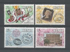 Kenya 1990 Stamp World London Y.T. 521/524 ** - Kenya (1963-...)