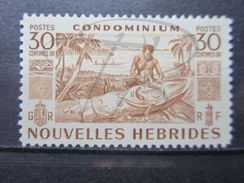 VEND BEAU TIMBRE DES NOUVELLES - HEBRIDES N° 149 , XX !!! - Légende Française