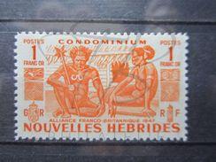 VEND BEAU TIMBRE DES NOUVELLES - HEBRIDES N° 152 , XX !!! - Légende Française