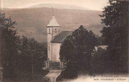 Nurieux Volognat église Canton Izernore - Francia