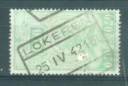 """BELGIE - TR 242 - Cachet   """"LOKEREN Nr 2"""" - (ref. 15.666) - Ferrocarril"""