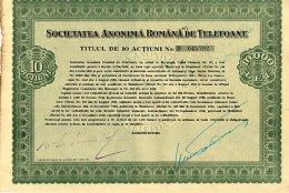 ROUMANIE / S. A. ROMANA DE TELEFOANE - Industrial