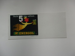 """Buvard """"l'huile 5 Fois Raffinée..."""" BP Energol. - Blotters"""
