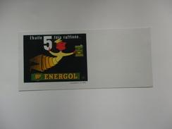 "Buvard ""l'huile 5 Fois Raffinée..."" BP Energol. - H"