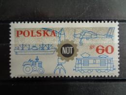 POLOGNE 1966 - MICH. N° 1653 ** -  CONGRES TECHNIQUE - 1944-.... Republik