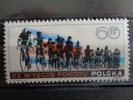 POLOGNE 1967 - Y&T N° 1615 ** - COURSE CYCLISTE DE LA PAIX - 1944-.... République