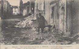 Militaria - Nomeny Tombe Dans La Rue - Correspondance Témoignage - Guerre 1914-18