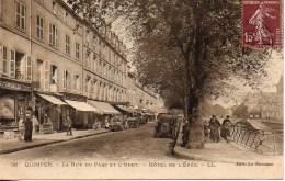 29 QUIMPER  La Rue Du Parc Et L'Odet  - Hôtel De L'Epée - Quimper