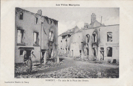 Militaria - Guerre 14-15 - Nomeny - Coin Place Des Ormes - Guerre 1914-18
