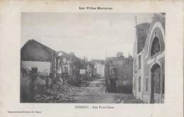 Militaria - Guerre 14-15 - Nomeny -  Rue Porte-Basse - 1915 - Guerre 1914-18
