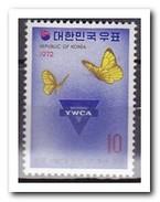 Zuid Korea 1972, Postfris MNH, YMCA, Butterflies - Korea (Zuid)