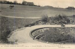 16) Coupe Gordon Bennett (1905) Automobile Circuit Michelin Un Virage Dans La Vallée De La Teissonnière - France