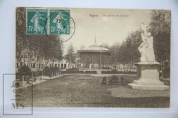 Old Postcard France - Agen, Les Jardins Du Gravier  - Posted - Sin Clasificación
