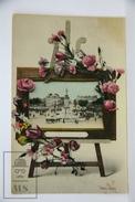 Old Real Photo Postcard France - Dijon, Place 30 Octobre - Posted - Sin Clasificación