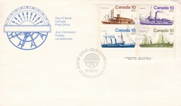 DAY OF ISSUE/JOUR D'EMISSION FDC 1976 - CANADA - BLEUP - First Day Covers
