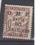 SYRIE        N° YVERT  :   TAXE   9     NEUF AVEC  CHARNIERES      ( 1139   ) - Timbres-taxe