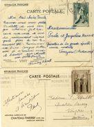LOT DE 6 ENTIERS POSTAUX - Postal Stamped Stationery