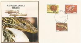 Reptiles & Amphibiens D'Australie, Lettre  FDC D'Australie - Reptiles & Batraciens
