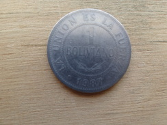 Bolivie  1  Bolivano  1987  Km 205 - Bolivia