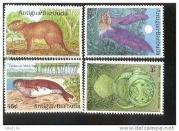 ANTIGUA & BARBUDA   1233-6 MINT NEVER HINGED SET OF STAMPS ANIMALS - WILDLIFE - Unclassified