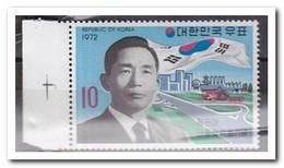 Zuid Korea 1972, Postfris MNH, Precident Park Chung-hee - Korea (Zuid)