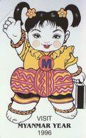 TARJETA TELEFONICA DE MYANMAR (269) - Myanmar
