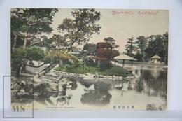 Old Postcard Japan - Garden In Okayama - Posted 1913 - Otros