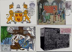 Belgie 1856/59 - Maximumkaarten - Historische Uitgifte III  -  1977 - Cartes-maximum (CM)