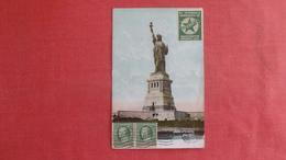 1910 Esperanto Stamp Washington  Statue Of Liberty NY -ref 2704 - Esperanto