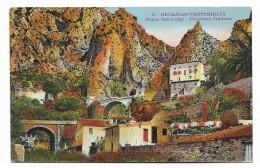 GRIMALDI - VENTIMIGLIA - PONTE SAN LUIGI - FRONTIERA ITALIANA    VIAGGIATA   FP - Imperia