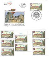 1501z5: Österreich 1988, Festspiele Stockerau, Ersttag Und Gesamt 6mal ** Briefmarken Plus Mustermarke - Stockerau