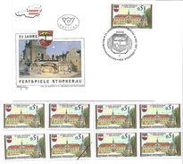 1501z4: Österreich 1988, Festspiele Stockerau, Ersttag Und Gesamt 6mal ** Briefmarken Plus Mustermarke - Stockerau