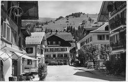 LENK - Dorfplatz, Feldpost ART.WET.ZUG 2.AK, Fotokarte Ca.1950 - BE Bern