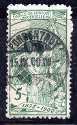 XP130 - SVIZZERA 1900 , Unificato N. 89 Usato - Oblitérés